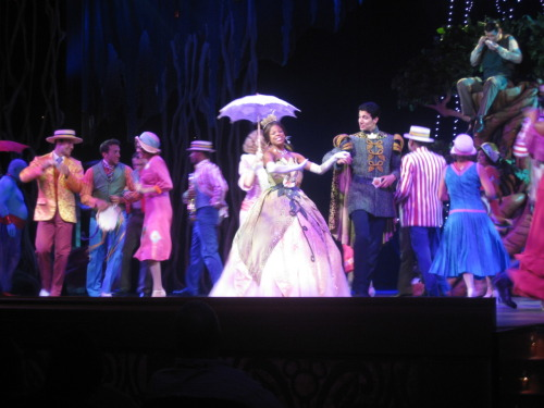 Princess and the Frog segment from Believe on the Dream