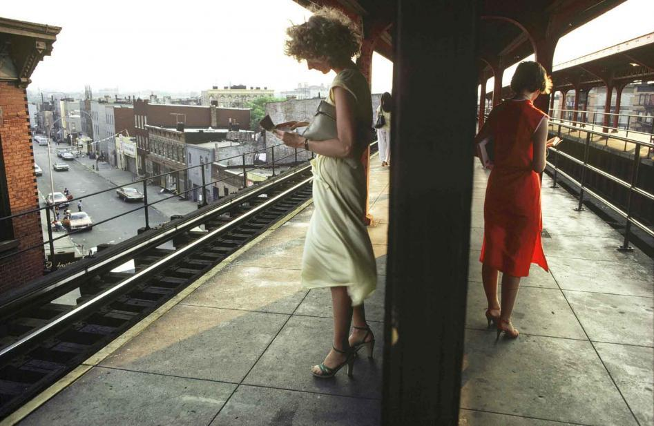 "Bruce Davidson Untitled from ""Subway"" (1980)"