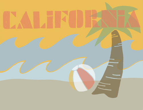 postcard series - california (by ifihaver)