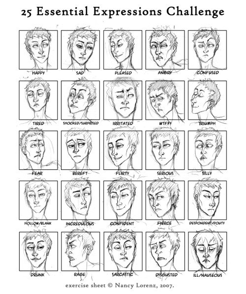 doop de doop expressions sheet for random character who used to have a name but I'm going to change it when I think of a better name. too many of these are similar…. original