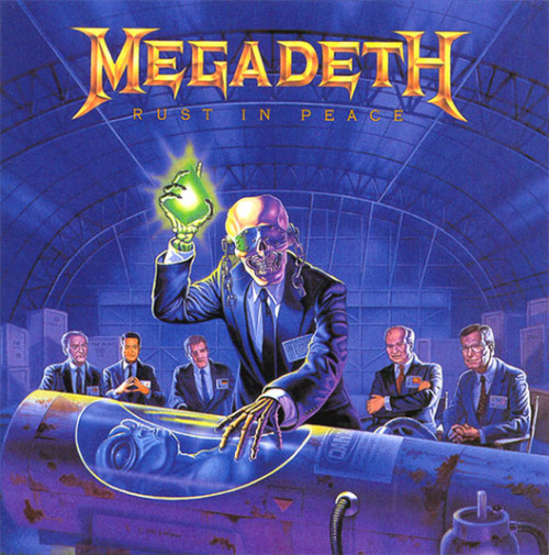 "Megadeth - ""Rust in Peace"" 1990"