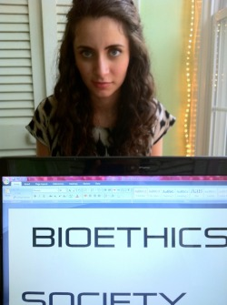 Working on launching our Bioethics UMD tumblr, twitter, and facebook page. Czech us out!