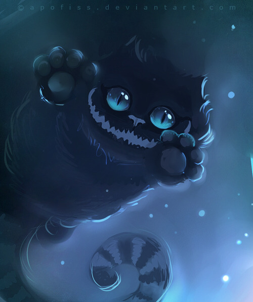 immamonstr:  Im like in love with the Cheshire Cat <3  ^^^ So am I~! <3 His eyes are mezmerizing :3