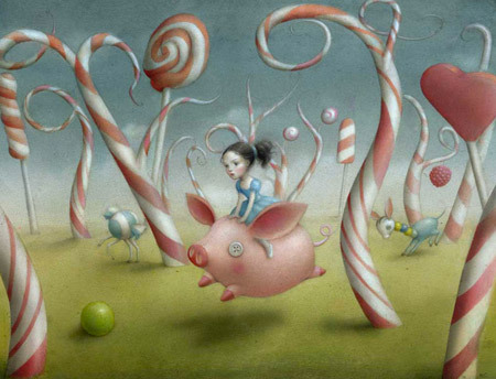 Candy Forest by Nicoletta Ceccoli