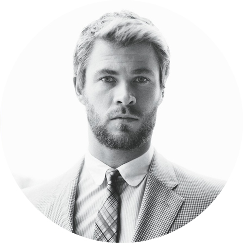 Chris Hemsworth by David Slijper