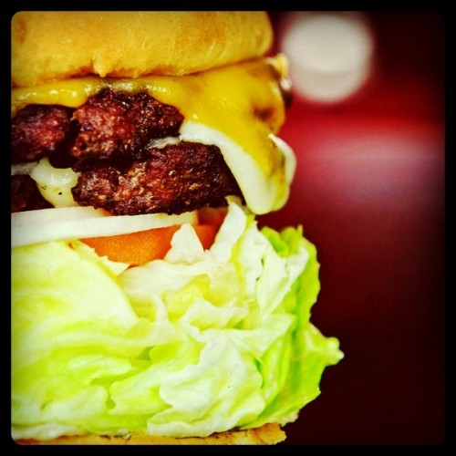 Cheeseburger, Firestone Grill, SLO, CA #Food #Photography (Taken with instagram)
