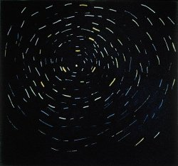 andrewharlow:  Star Traces Around Polaris, 1973 by Paterson Ewen