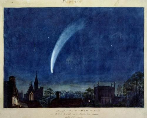 William Turner, Donati's Comet, 1858