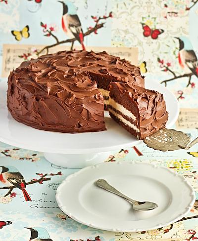 The Ultimate Milo (Chocolate Malt) Cake with Sweetened Condensed Milk Icing & Milo Ganache Photos & Recipe @ raspberri cupcakes
