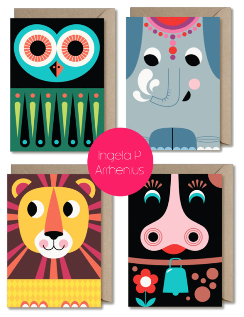 Cute animal cards.