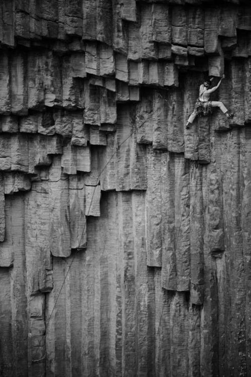 harvestheart:  Rock Climber in Armenia