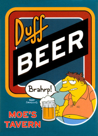 Welcome to official Duff Day! Nothing but Duff Beer, all day long, courtesy of Mmm… Simpsons!