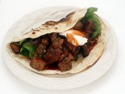 Grilled Pork & Peppers Taco