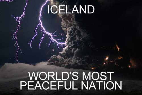 Iceland: The world's most peaceful nation  画