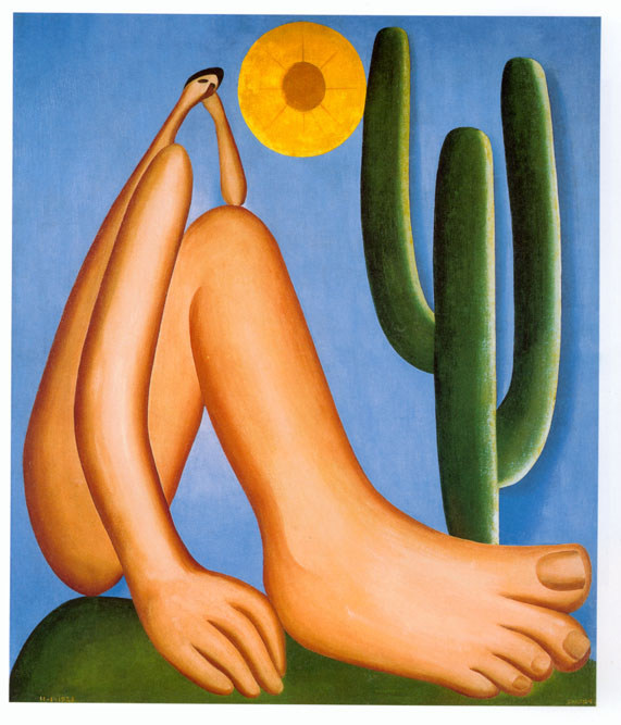Tarsila do Amaral - Brazilian painter