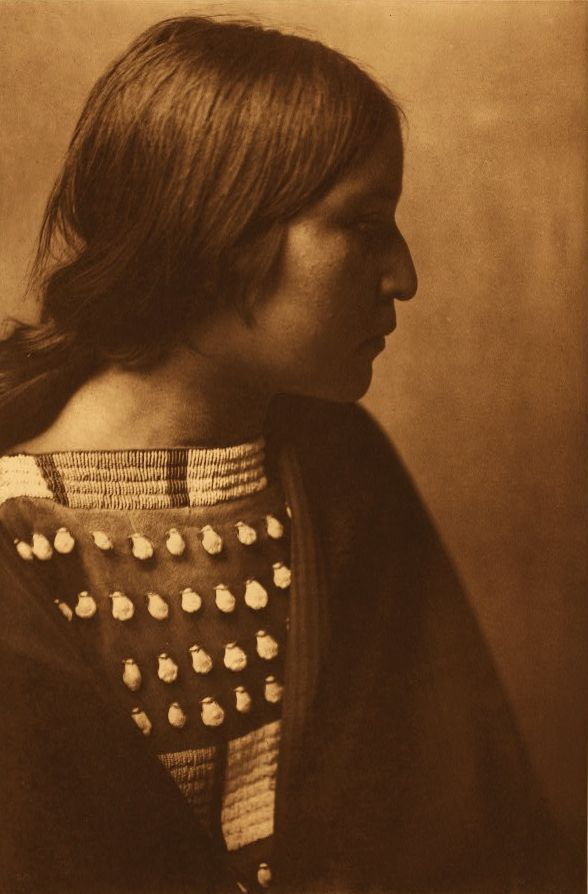 journalofanobody:  by Edward Sheriff Curtis Arikara Girl