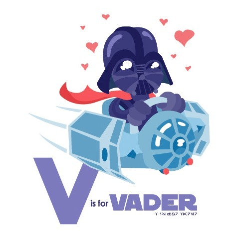 hayleyquinnn:  Aw, baby Vader is irresistible. Time to crush all rebels! More Vader: Darth || Empire || Sith || Entrance || Dark || Steampunk || Sense V is for Vader, by Brandon Peat.