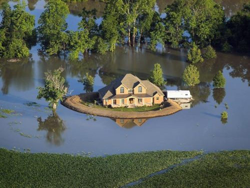 Extreme Disaster Mississippi Flood Levee's