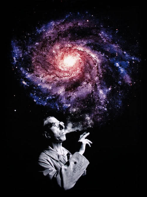 Tokin the galaxy.