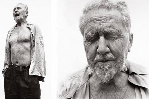 Ezra Pound at William Carlos Williams's house in 1958 by Richard Avedon proustitute:  (source)