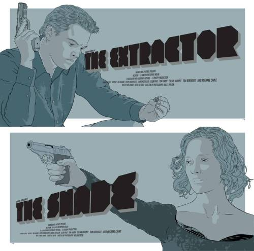 INCEPTION: The Extractor / The Shade poster redesigns by Jeffrey Zhang