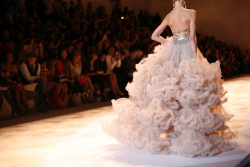 The most magnificent gown on the runway.