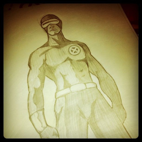 Old Cyclops sketch ( taken with Instagram )