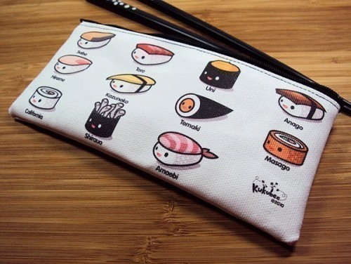 This would make me hungry for sushi ever time I used it. -Cory U