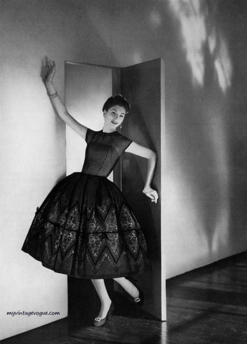 Bergdorf Goodman Ad 1955 - Photo by Richard Avedon Model Suzy Parker