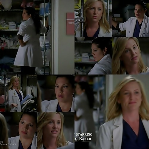 "Calzona - season 6 moments / Story of true love (MFEO) / 6x05 / ""Invasion"" Callie: The man flew 3,000 miles to make me straight…With a priest.I'm lucky they didn't March into the E.R. swinging incense,all-all hepped up for an exorcism.Arizona: Are you done yet?Callie: Am I-no!He came here to disinfect you from my life.You don't find that abhorrent?Arizona: I do,but…Callie: There is no ""but,""okay?Oh,what,you're gonna-you're gonna tell me you get where he's coming from?Arizona: Maybe you should try and talk to him.Callie: I have nothing to say.If he wants to throw away our relationship after 30 years,then that's his decision.Arizona: He hasn't done anything here.You're the one who changed the game.Callie: You-you didn't expect a little understanding when you came out to your parents?Arizona: Uh…I never had boyfriends…Ever.I had a poster on my wall of Cindy Crawford,and I wasn't just looking at her mole.It wasn't news to my mom when I brought somebody home named Joanne.But you,you dated men your whole life.You loved men.You even married one.You want to talk about 30 years of a relationship?You know,he's been consistent for 30 years.And all of a sudden,you're a whole new girl.So…Cut him some slack.Sit down and have a conversation.Give him room to be a little shocked.Callie: I hate you.Arizona: 'Cause I'm right and I'm awesome."