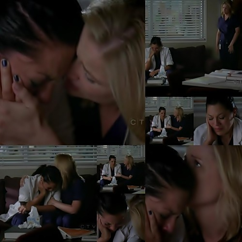 "Calzona - season 6 moments / Story of true love (MFEO) / 6x05 / ""Invasion"" Arizona: Didn't go well,huh?Callie: Well,at least now I can move on with my life.Stop entertaining any thoughts of actually getting back together with my family.Whatever.I don't need a father.I don't…Not one who won't accept me."