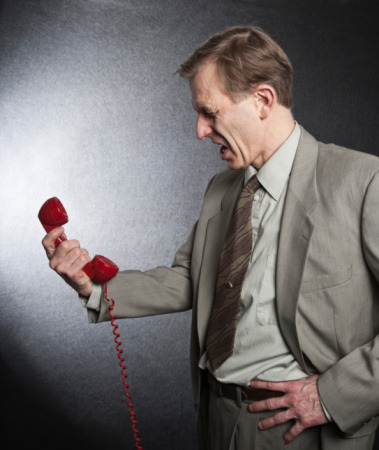 When Kenneth was really furious, he would hold the phone at arms length and silently mouth the words to a berating that would make a sailor blush.
