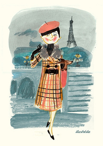 Parisian (by ilustrista)