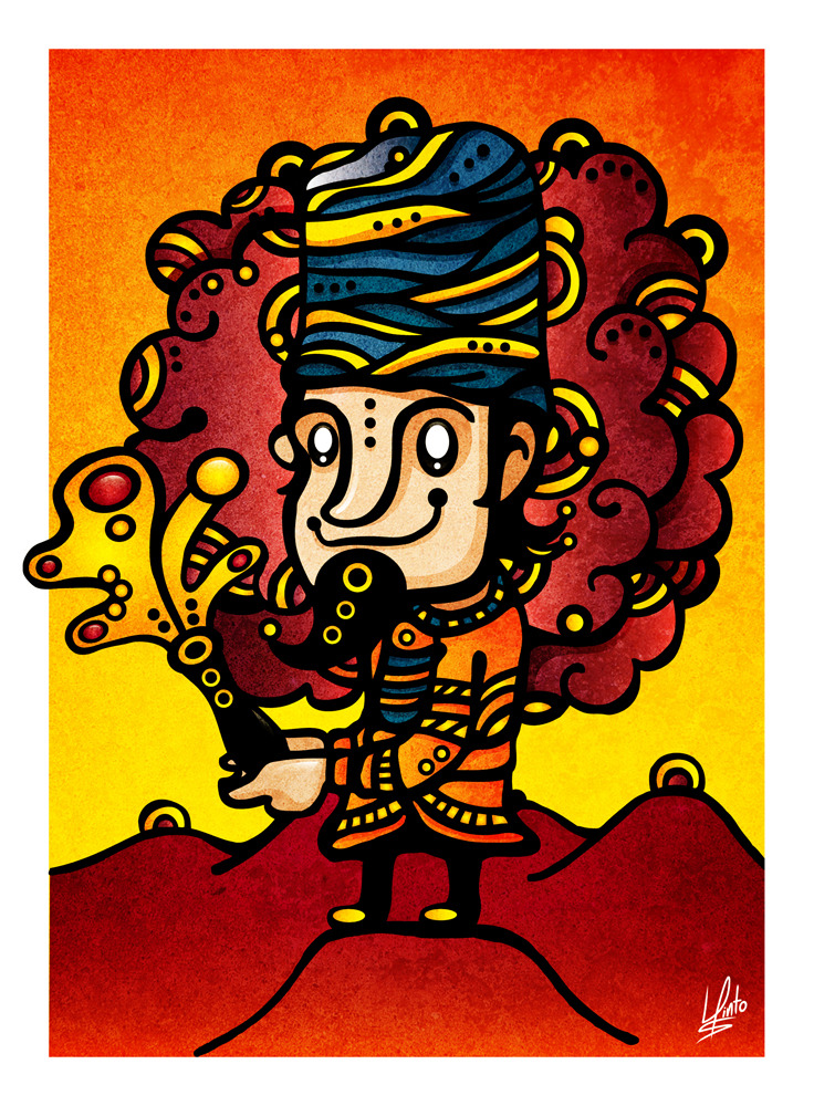 Charming Magic, 2011 Mixed Media Illustration http://www.behance.net/gallery/Charming-Magic/1521503