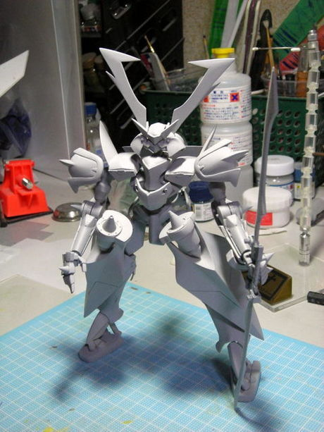 modelers-g work of the day 1/100 Susano-o scratch build modeled by wasisannn