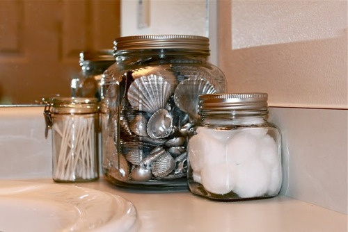 (via from GARDNERS to BERGERS: DIY Pottery Barn Silver Seashells)