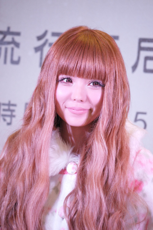 Looking lovely. Tsubasa Masuwaka, during a LIZ LISA press event. Comment on this post at HARAJUJU.net Forums