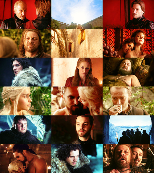 duemilaquarantasei:     When you play the Game of Thrones, you win or you die. There is no middle ground.  Game of Thrones 1.07 You Win or You Die