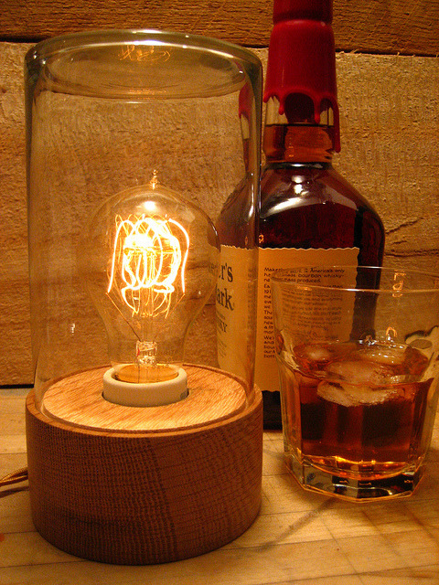 Bourbon Jar Lamp by B. Light Design