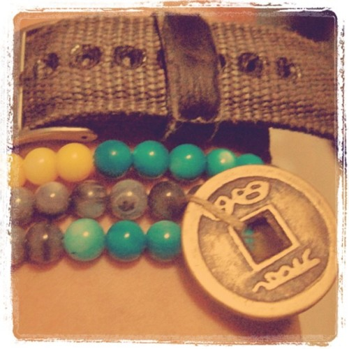 Wrist candy #accessories #styleguy (Taken with instagram)