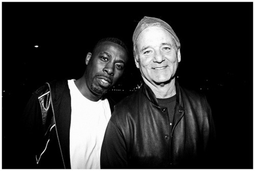 GZA and Bill Murray