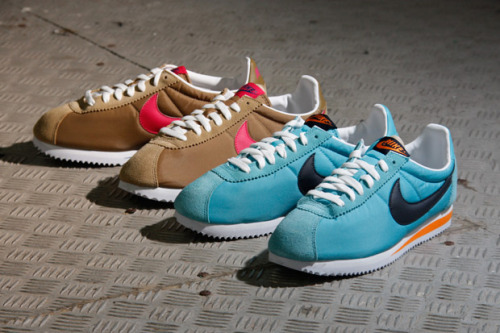 "Nike Sportswear 2011 Summer Cortez Classic ""Nylon"" Pack George Costanza would be proud"