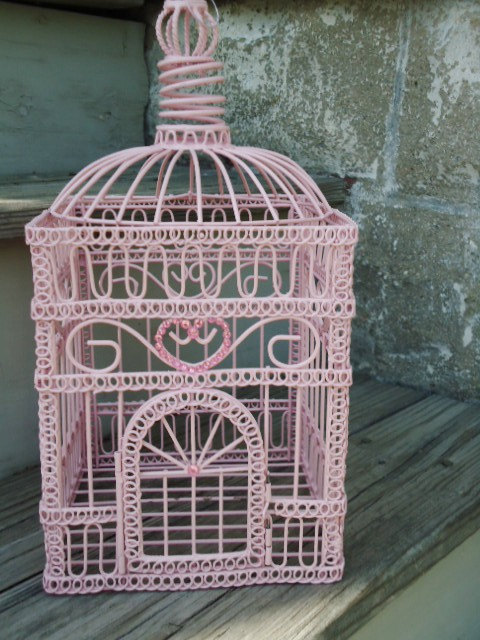 etsyfresh:  Decorative bird cage from TheBountifulBird.
