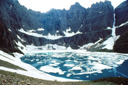 coffeestainsandcigarettes:  Iceberg Lake Glacier National Park Montana (by Lifeinthenorthwoods On Vacation)