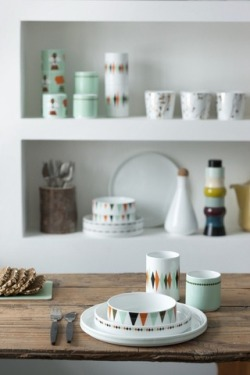 Porcelain from Danish Ferm Living.