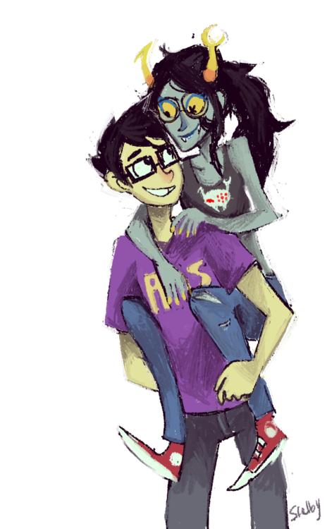 Grimdark john and vriska