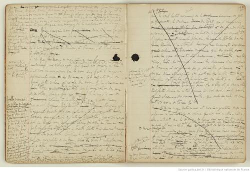 proustitute:  Marcel Proust's notebook, n.d. (source)