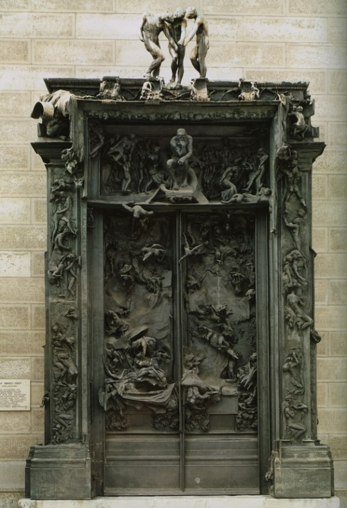 fckngprblms:  Gates of Hell - Auguste Rodin, c. 1890
