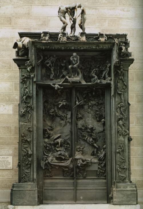 fckngprblms:  Gates of Hell - Auguste Rodin, c. 1890