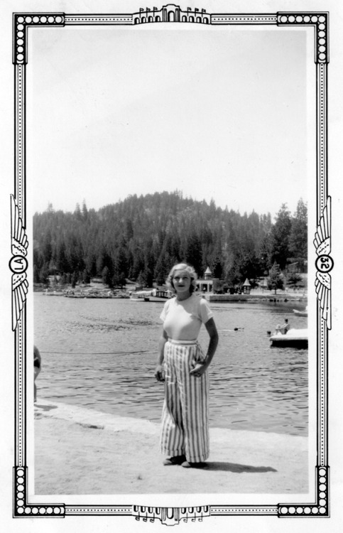 Love this photo of Erika Hall's grandma in 1932.